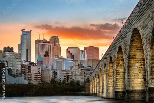 kamienna łukowa panna młoda w Minneapolis Minnesota
