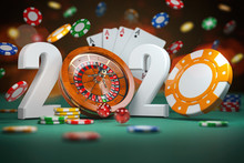 2020 Happy New Year In Casino....