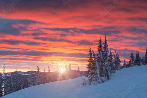 sunset-in-the-mountains