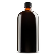 Brown Glass Bottle. Cosmetic, ...