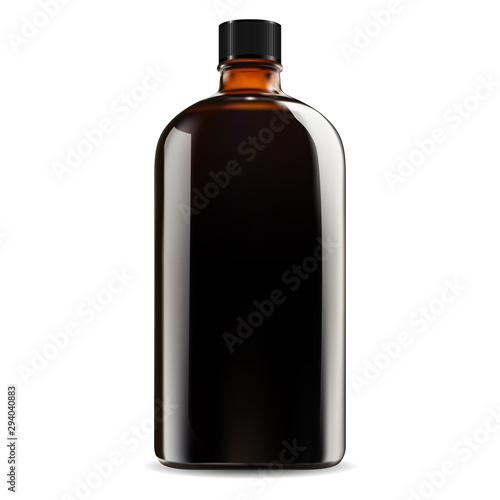 Fotomural Brown glass bottle