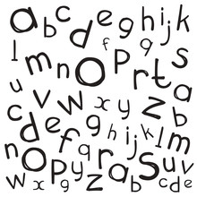 Alphabet Isolated Pattern. Let...