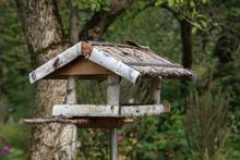 Handmade Wooden Bird Feeder Ma...