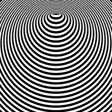 Abstract Circle Lines Graphic ...