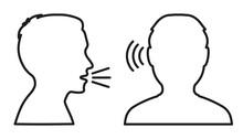People Talk: Speak And Listen – Vector