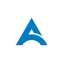 A Letter Logo Template Illustration Design. Vector EPS 10.