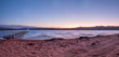Sunrise Over the Mountains in the Beach At Sand Hollow Park
