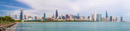 Chicago downtown buildings skyline panorama - 294073822