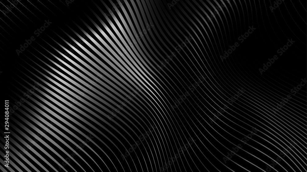 Fototapeta Sound wave rhythm surface