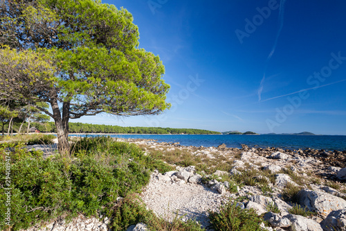Fotografía Adriatic coast near Pakostane, Croatia