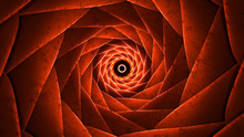 Beautiful Trippy Vortex Abstract Colorful Background Red Orange Dmt Concept