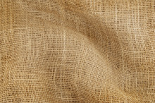 Burlap Sack Textile As Backgro...