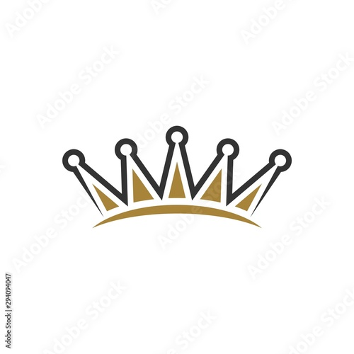 Fotografía  Crown Logo Template Illustration Design. Vector EPS 10.