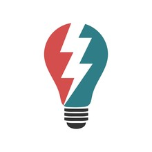 Bulb Lamp Logo Template Illustration Design. Vector EPS 10.
