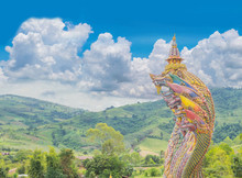 The Big Symbol Of Phaya Naga, ...