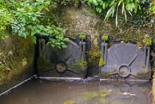 A Pair Of Metal Sluice Gates I...