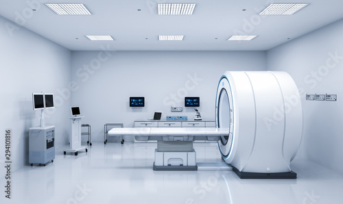 Obraz mri scan machine - fototapety do salonu