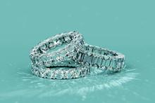 Tree Diamond Eternity Rings On...