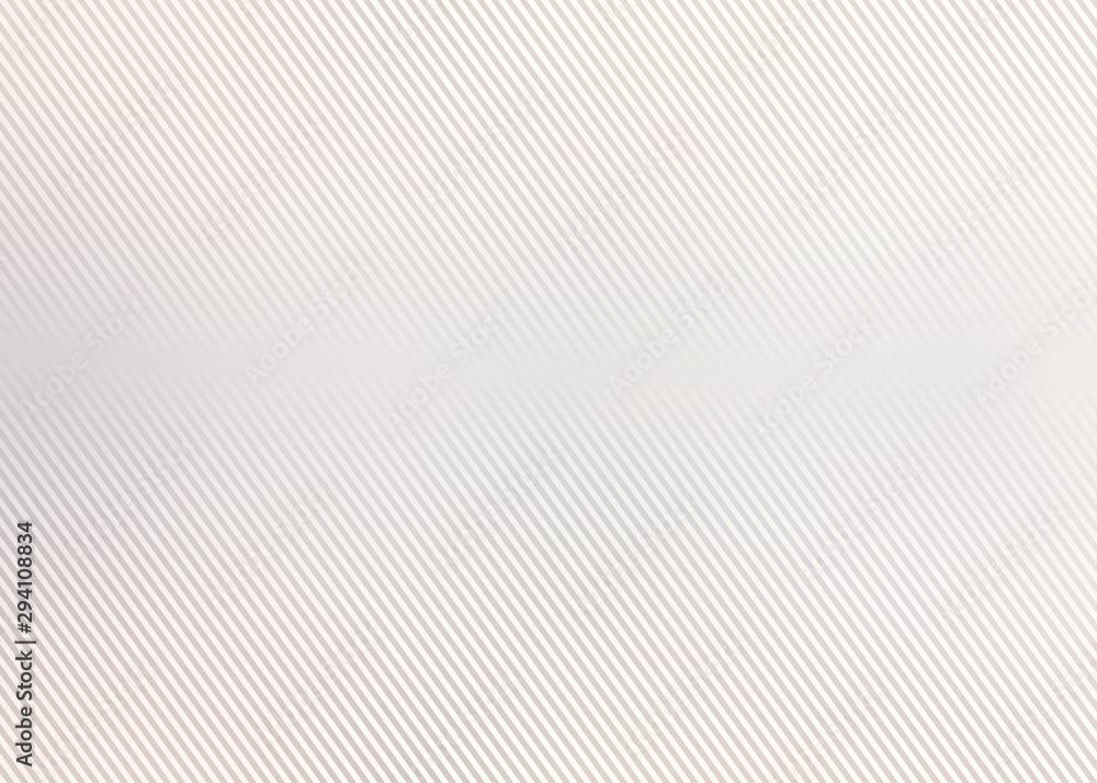 Fototapeta Oblique stripes pastel background. Light beige subtle texture. Neutral matte surface.