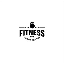 Fitness Logo , GYM Logo, Cross...