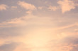 sky and cloud in bright rainbow colors and Colorful smooth sky in dusk