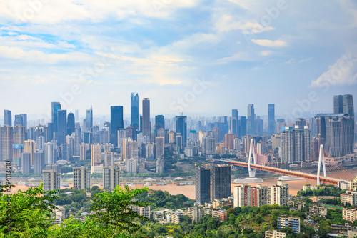 Keuken foto achterwand Verenigde Staten Daytime architectural landscape and skyline in Chongqing