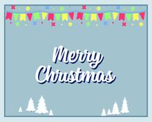 Merry Christmas Postcard Desig...