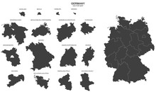 Political Map Of Germany Isola...