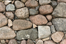 Picture Os A Stone Wall Made O...