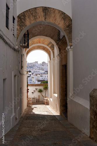 Fototapety, obrazy: Beautiful Brick Arc at Vejer de la Frontera