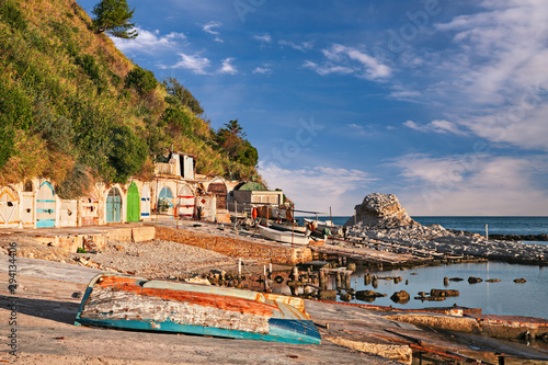 Ancona, Marche, Italy: the metropolitan beach of Passetto Wallpaper Mural