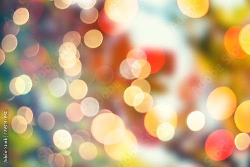Defocused Blur bokeh abstract background,out of focus background Fototapet