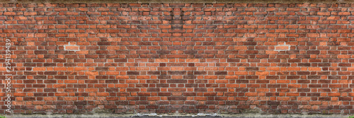 Wall Murals Brick wall Red brick wall textured photography urban for graphic resource