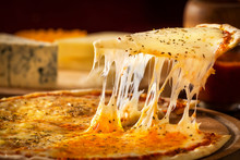 Delicious Pizza Made In Wood Oven