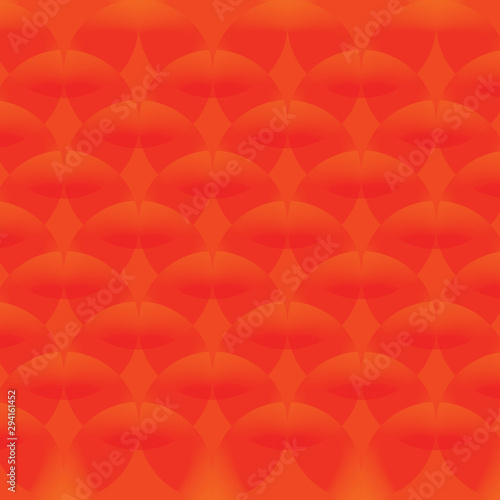 Red Simple Continuous Circle Pattern Of Wallpaper Buy This