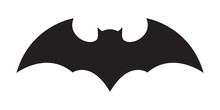 Bat Vector Icon Logo Halloween Character Ghost Illustration Cartoon Symbol Graphic