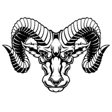 Illustration Of Aries Zodiac S...