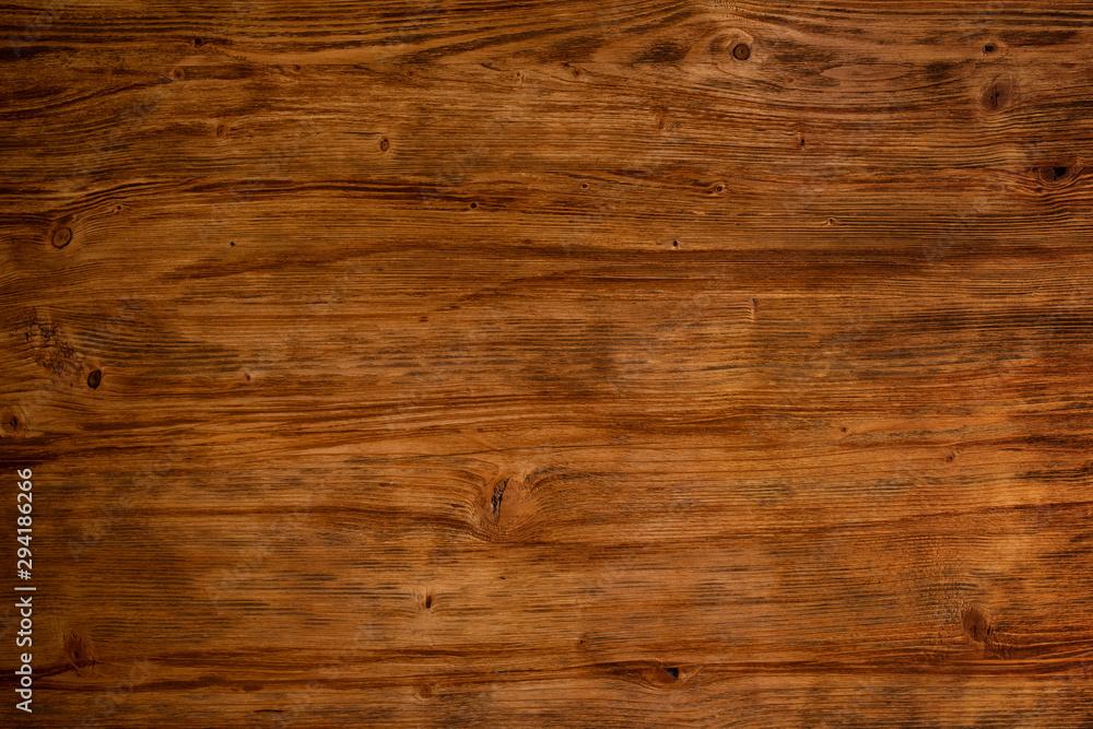 Fototapety, obrazy: Dark textured wood background