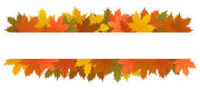 Autumn Leaves Banner, Copy Spa...