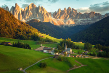 Santa Maddalena Village In Fro...