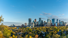 Calgary's Beautiful Skyline.