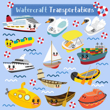 Watercraft Transportations Car...