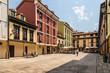 Oviedo, Spain. The picturesque del Fontan square
