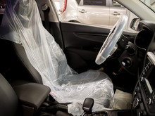 Put On Protective Covers When Taking The Car In Service