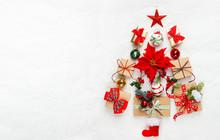 Christmas Tree Made From Chris...
