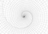 Fototapeta Do przedpokoju - Abstract geometric background. Optical illusion of spiral motion.