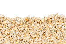 Popcorn Background Close-up Is...
