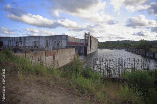 Fototapeta niedokończona siłownia jądrowa w Polsce obraz