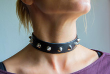 Choker, Leather Choker