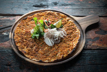 Lahmacun Traditional Turkish P...